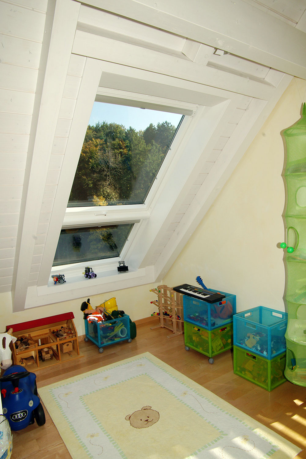 Dachfenster Balkon Cabrio Interieur